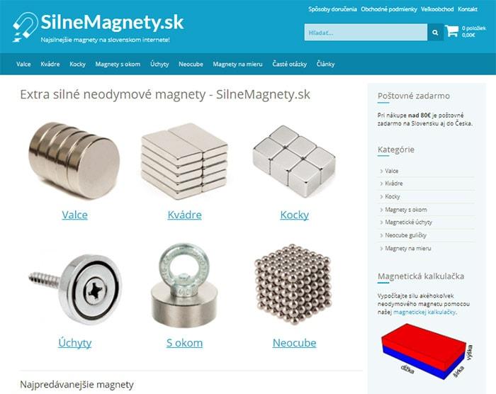 Kde kúpiť magnety - eshop SilneMagnety.sk