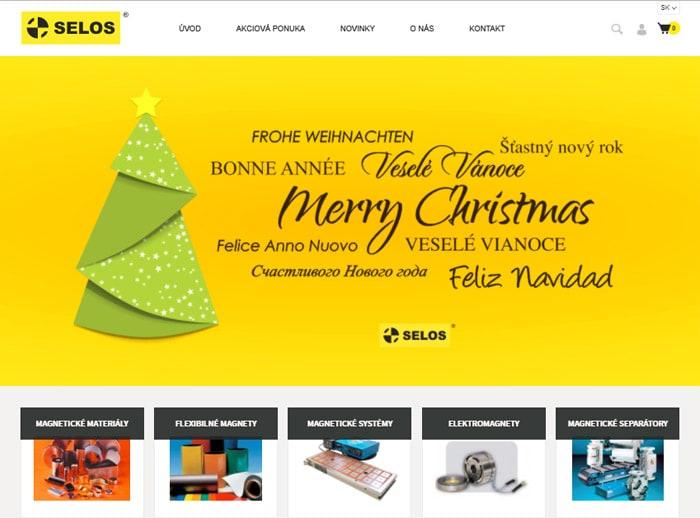 SELOS - predaj neodýmových magnetov a iných magnetických výrobkov