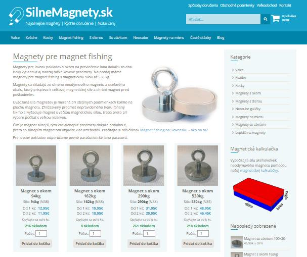 Magnety s lanom na SilneMagnety.sk